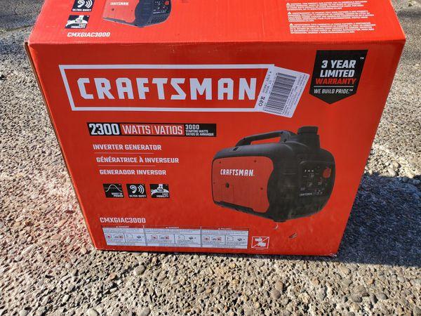 Brand New Unopened Craftsman 2300w Inverter Generator
