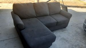 Small gray sectional couch for Sale in Indio, CA