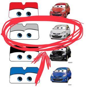 Cars eyes windshield sun visor for Sale in Austin, TX