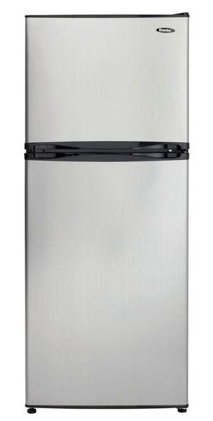 DANBY ' Top Mount Freezer, Frost Free Crisper, Stainless Steel ( New)🤩 for Sale in Bristol, RI