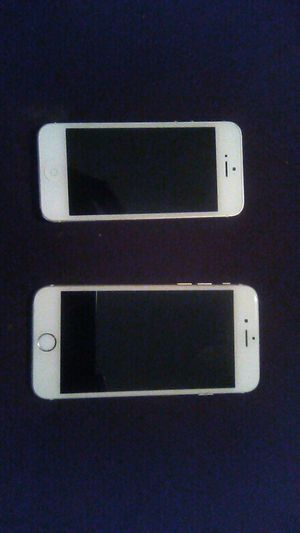 Space Gray Apple iPhone 5 (AT&T Unlocked) and Space Gray iPhone 6s (T-Mobile Unlocked) for Sale in Atlanta, GA