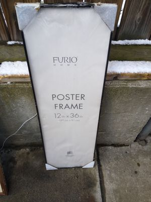 Poster frame 12x36 or 36x12 for Sale in Binghamton, NY