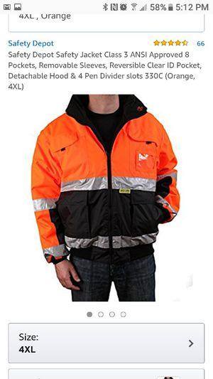 Safety Depot Jacket Class 3 for Sale in Manassas, VA