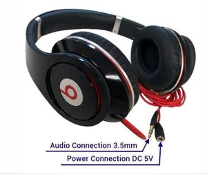 BEATS BY DRE STUDIO WIRED OVER EAR HEADPHONES for Sale in Richmond, CA