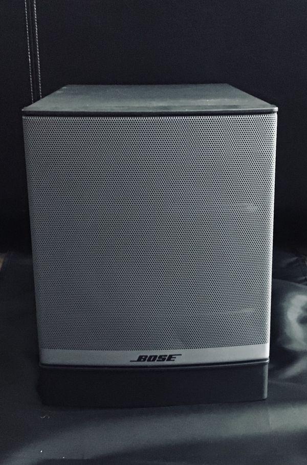 Bose- Companion 3 Series 2 Multimedia Speaker System