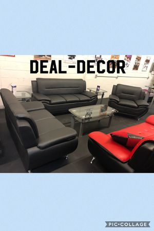 Black 3 piece sofa set for Sale in Kennesaw, GA