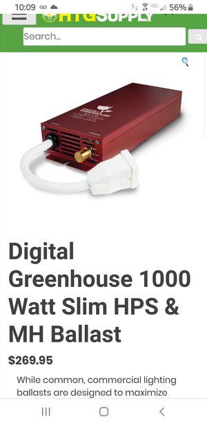 Digital Greenhouse 1000 Watt Slim HPS & MH Ballast for Sale in Dearborn Heights, MI