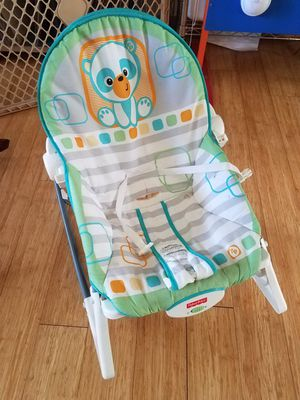 Infant chair/Toddler rocker and Exersaucer for Sale in Portland, OR