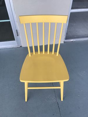 2 Yellow chairs for Sale in Winter Haven, FL