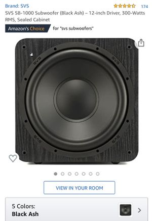 SVS Sound SB-1000 Powered Subwoofer in perfect condition, like new. 300 watts RMS for Sale in Portland, OR