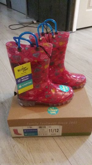 Western chief rain boots for Sale in Hillsborough, NC
