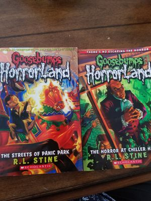 Goosebumps books for Sale in Corona, CA