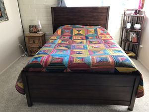 Full bed frame, Ashley Furniture for Sale in Oretech, OR