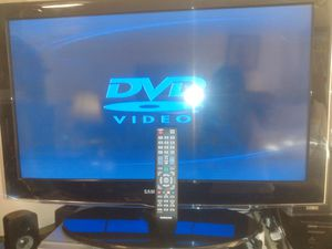 Samsung lcd hdtv high resolution hdmi 37 inch w remotechromecast for Sale in San Francisco, CA