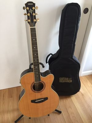 Yamaha Compass Acoustic Electric Guitar for Sale in Waterbury, CT