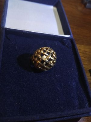 Gold criss cross ring for Sale in Akron, OH