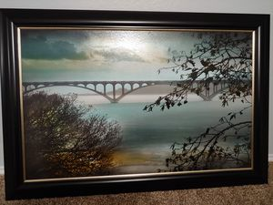 Beautiful painting / wall art for home from Kirklands! Great condition, just doesn't match our new decor. for Sale in Marion, TX