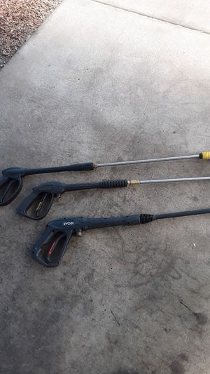 Pressure Washer Gun Wand and hose for Sale in Youngtown, AZ