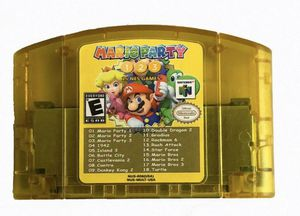 Nintendo N64 18 in 1 Card Mario Party 1 2 3 Aggregation +15 NES Edition US Card for Sale in Wellington, FL