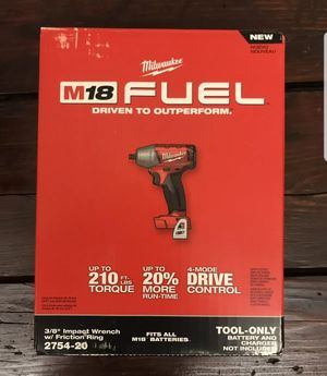 "Milwaukee 3/8"" Impact Wrench Brand new for Sale in Houston, TX"