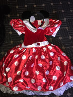 minnie mouse and mickey mouse costume for Sale in Las Vegas, NV