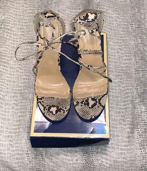 Clear snake print heels for Sale in Glendale, CA