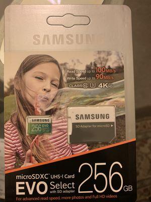 256 Micro Sd Card evo for Sale in Hillside, IL