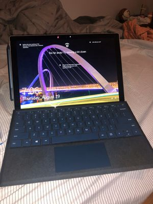 Microsoft surface pro with keyboard and pen for Sale in Miami, FL