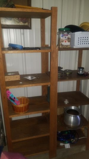 2 wood shelves for Sale in Colorado Springs, CO