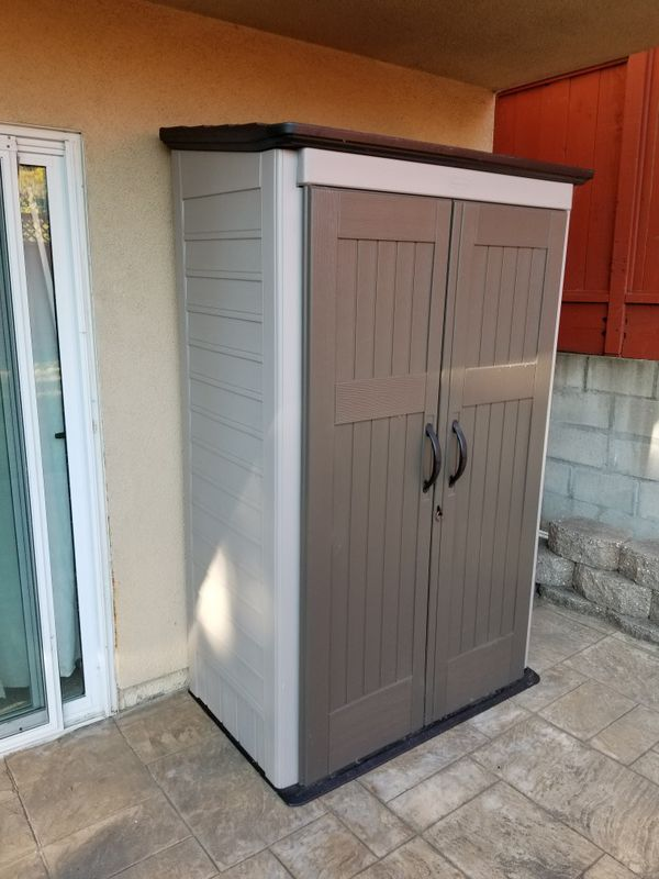 Rubbermaid big max shed