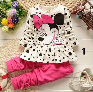 Baby Girls Clothing Sets Spring Cotton Minnie Girl's Clothes Sets Children Full Sleeve Embroidery Kids Clothing for Sale in Orlando, FL