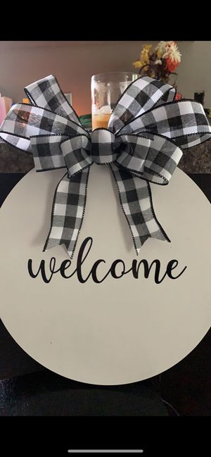 Hanging welcome signs for Sale in Havelock, NC
