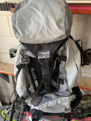 Hiking backpack. Coleman Elate 65L for Sale in Lakeland, FL