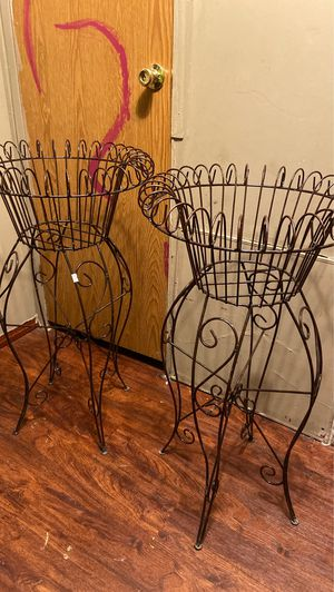 Steel flower pot stand for Sale in Austin, TX