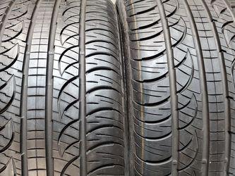2 Tires 275/40/20 Pirelli Pzero Nero All Season 97% New for Sale in Los Angeles,  CA