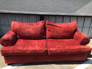 Red sofa for Sale in Dallas, TX