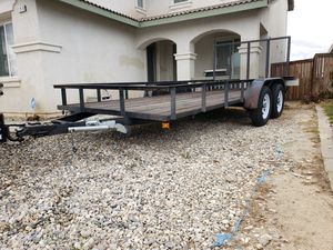 2009 Aztex Utility Trailer for Sale in Victorville, CA