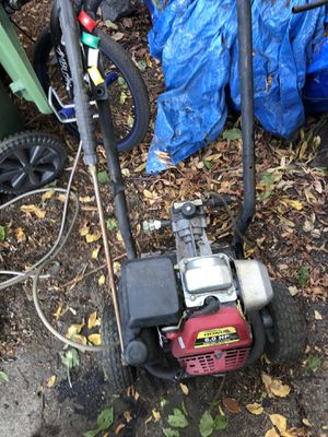 Pressure washer needs work but runs for Sale in Pleasant Hill, CA