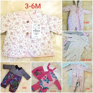 11 baby girl winter clothes and snowsuits $22 for Sale in Columbia, MD