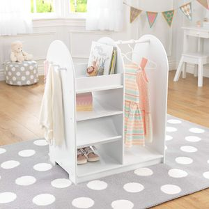 FURNITURE- Kids organizer w towel/shoe/clothing/book sections for Sale in Heathrow, FL