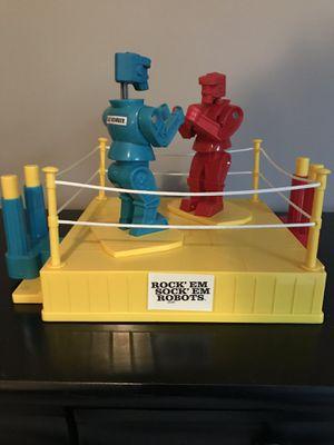 Rock em sock em robots for Sale in Vadnais Heights, MN