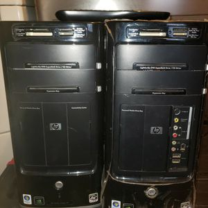 (2) Hp Media Center -m8200n PC's For Parts Or Repair for Sale in Fort Worth, TX