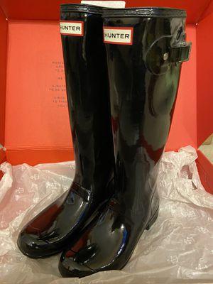 Hunter Tall Gloss Rainboots-Size 9 for Sale in Arlington, TX