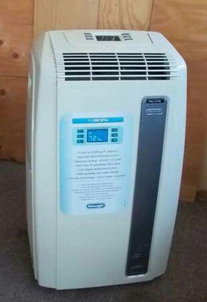 DeLonghi AC 11,000 BTU Portable Air Conditioner + A/C Hose + Window Panel- for Sale in Vista, CA
