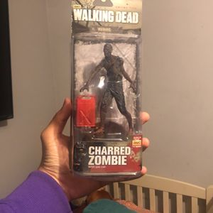 Walking Dead Charred Zombie Action Figure for Sale in Los Angeles, CA