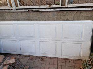 9' wide metal garage door. for Sale in San Diego, CA