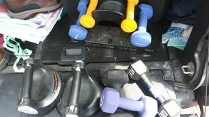 Various weights and push up for Sale in Pittsburgh, PA
