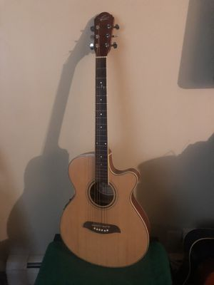 Oscar Schmidt by Washburn Acoustic electric nylon guitar for Sale in Elgin, IL