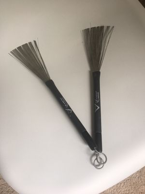 Drum Stucks Wire Brushes - like new for Sale in Charlotte, NC