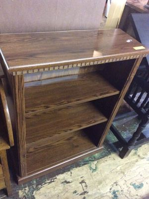 Dark Wood Style Small Book Shelf for Sale in Mendon, MA